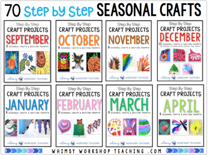 Crafts Bundle for the whole year!
