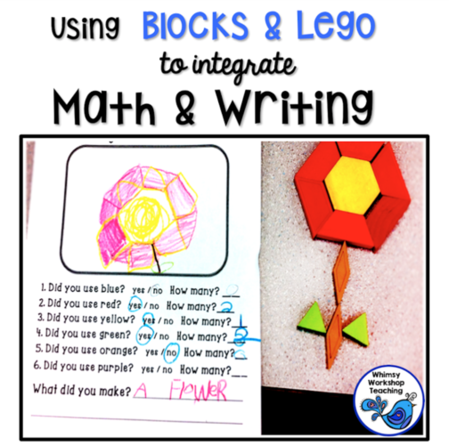 Integrate Writing and Math With Building