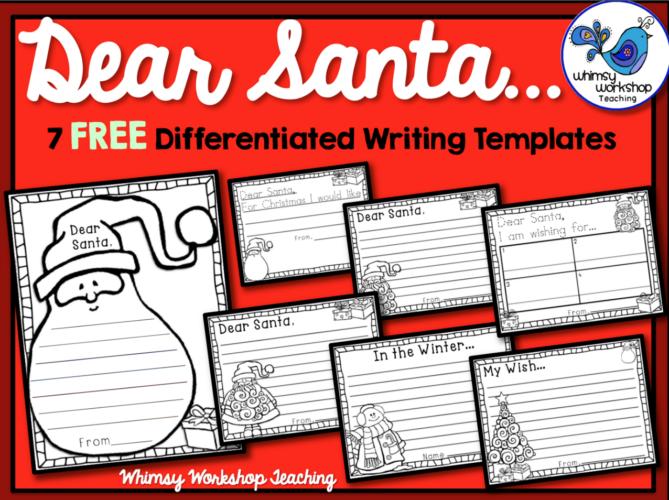 Santa Letter set