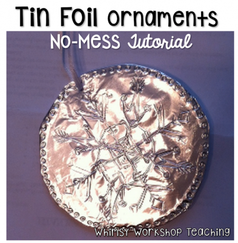 tin foil ornaments
