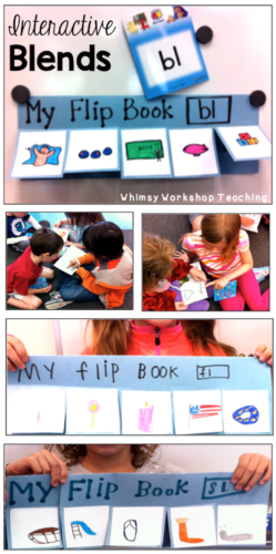 Interactive Blends and other ideas for teaching spelling patterns
