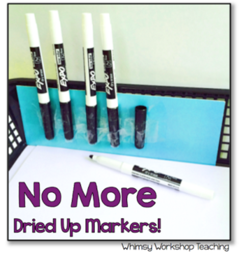No more dried up markers