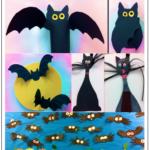 It's Bat Week! Lots of Halloween Crafts