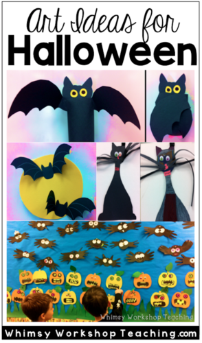 Cute and easy art ideas for halloween crafts