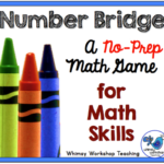 Number Bridge No-Prep Math Game – Bright Ideas October