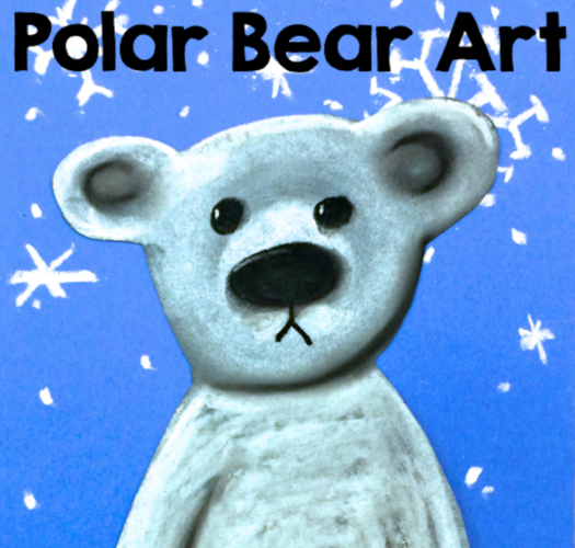 Polar Bear Art Tutorial