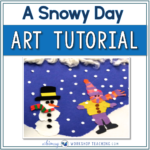 Snowy Day Art Tutorial