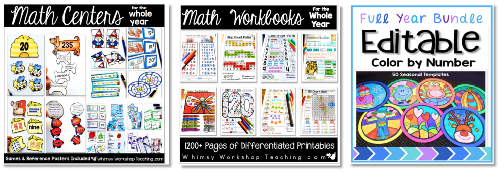 math ideas for primary