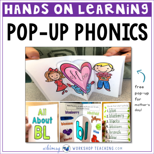 Phonics: Interactive Fun with Pop-Ups