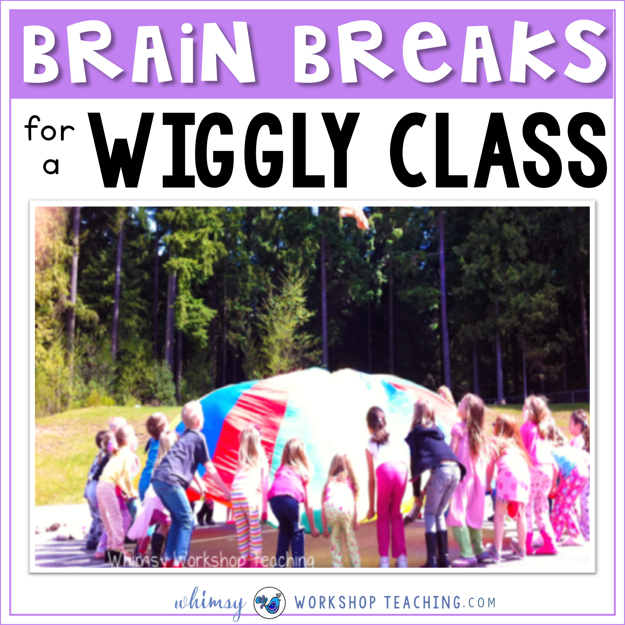 Brain breaks for a wiggly class - strategies and ideas