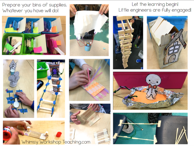 Fairy Tale STEM projects begin with partner plays