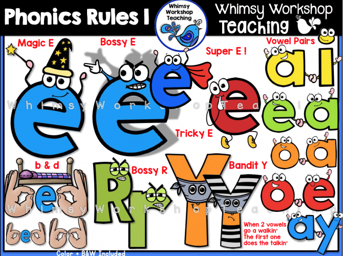 Phonics Rules Magic E