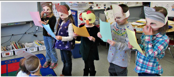 Readers Theater presentation
