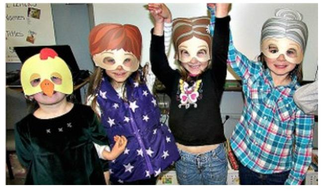 Fairy Tale Masks