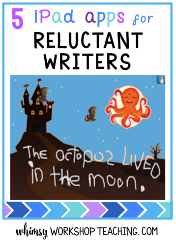 Reluctant Writers: Tech Solutions