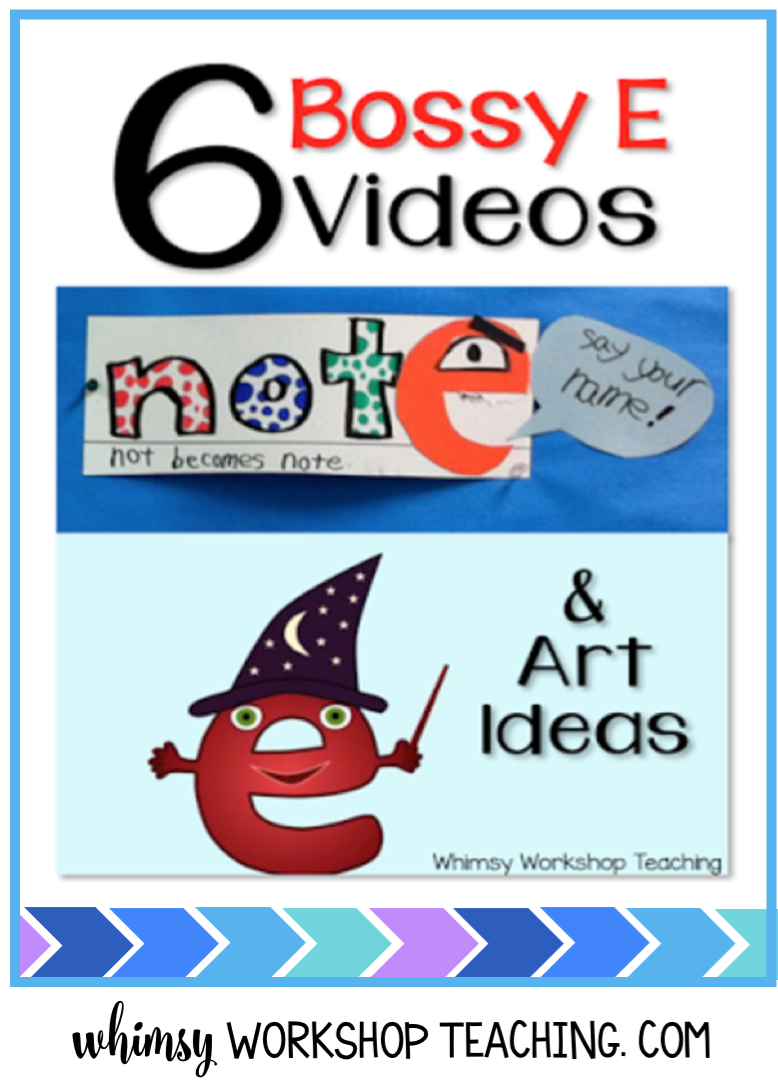 Teaching spelling patterns and phonics is so much easier using videos and songs, and here's our collection of videos for bossy e.