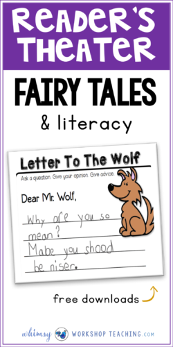 Fairy Tales are the perfect way to explore literacy in the classroom. Reader's Theater with masks, letters to characters, and exploring setting and plot - the possibilities are endless!