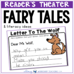 Working with fairy tales for literacy using readers theater and masks