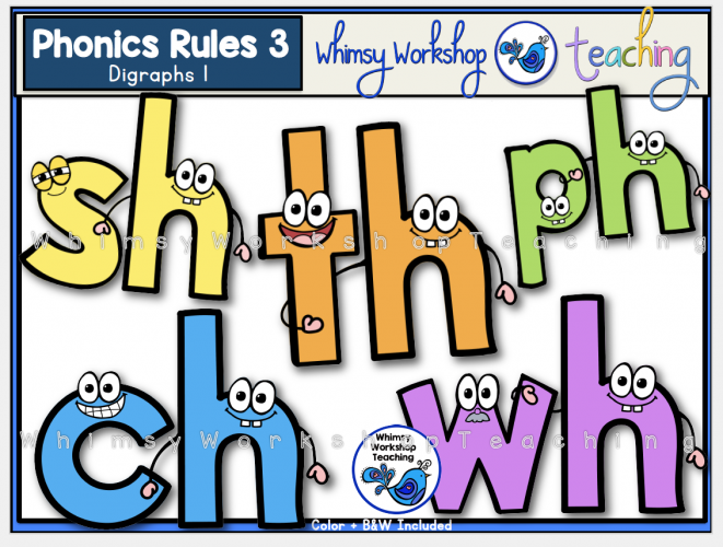 Phonics Rules 3 Digraphs 1