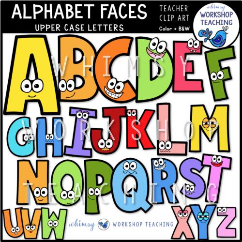 Alphabet Faces Upper Case WWT