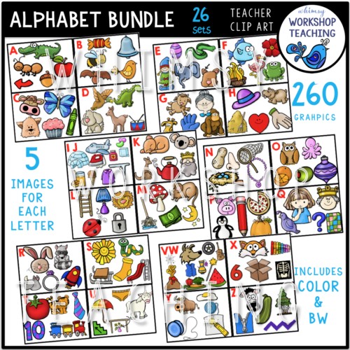 Alphabet Sounds Bundle WWT