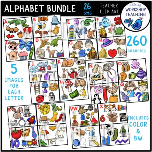 Alphabet Sounds Bundle WWT