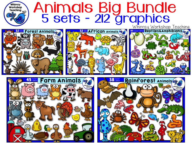 Animals BIG BUNDLE