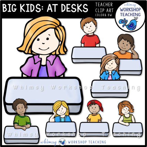 Big Kids At Desks WWT