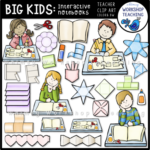 Big Kids Interactive Notebooks WWT