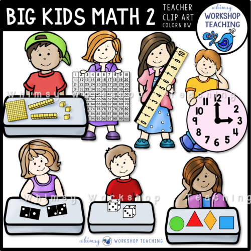 Big Kids MATH 2 WWT