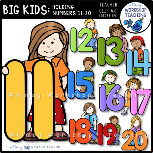 Big Kids Numbers 11-20