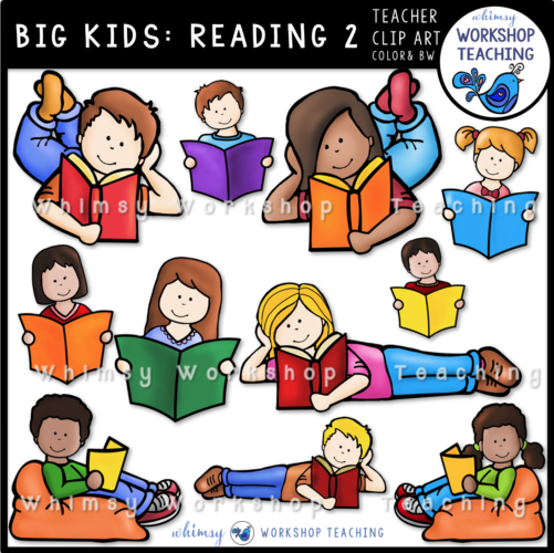 Big Kids Reading 2