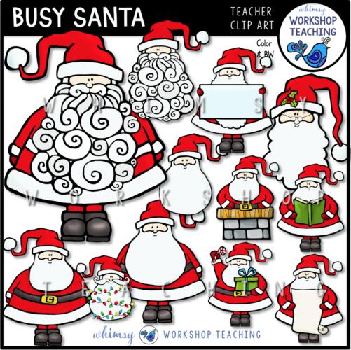 Busy Santa WWT