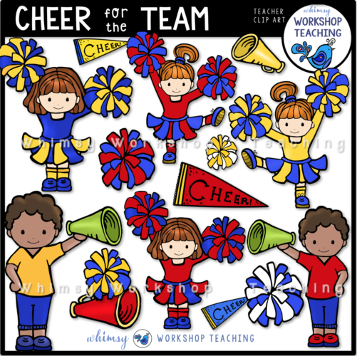 Cheer for the Team Clip Art WWT