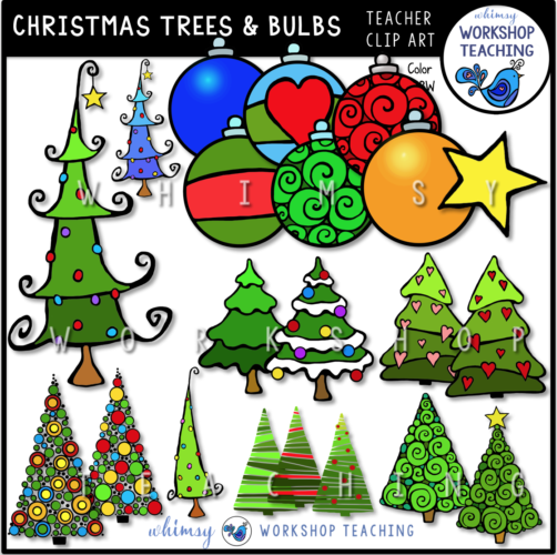 Christmas Trees and Bulbs WWT