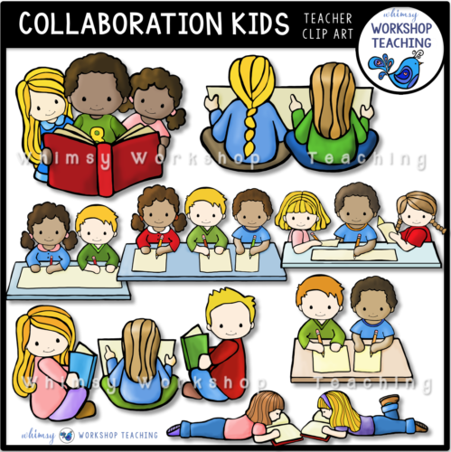 Collaboration Kids Clip Art WWT