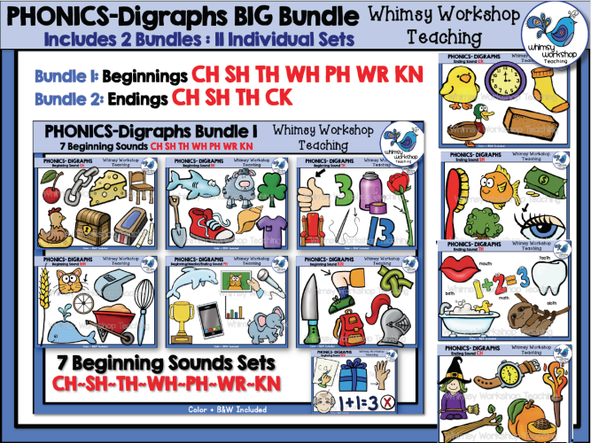 Digraphs BIG Bundle