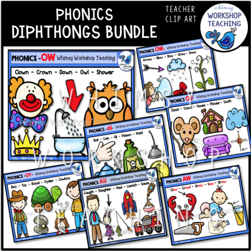 Diphthongs Bundle WWT