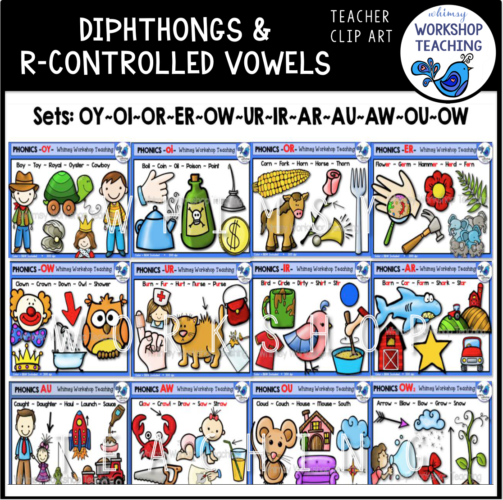 Diphthongs R Controlled Bundle WWT