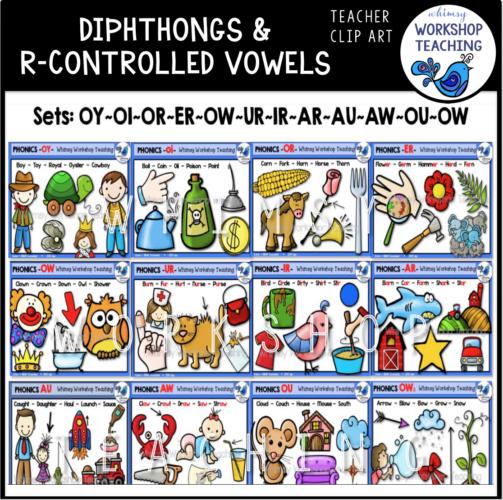 Diphthongs R Controlled Bundle WWT
