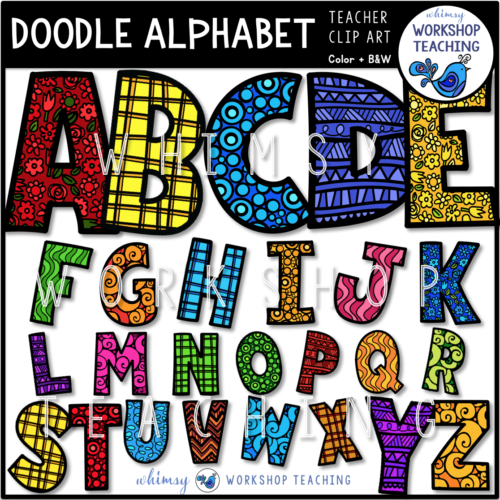 Doodle Alphabet WWT