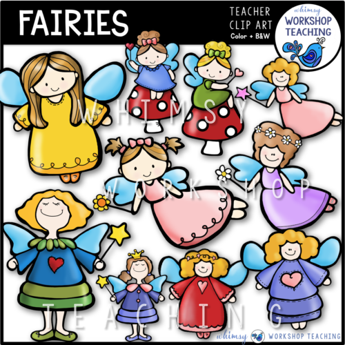 Fairies Clip Art