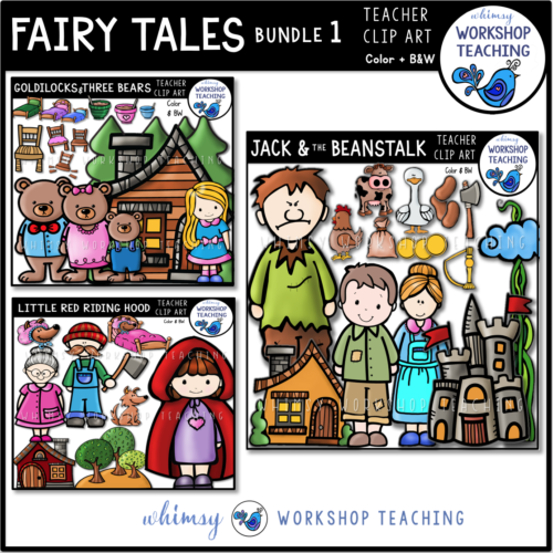 Fairy Tales Clip Art Bundle 1