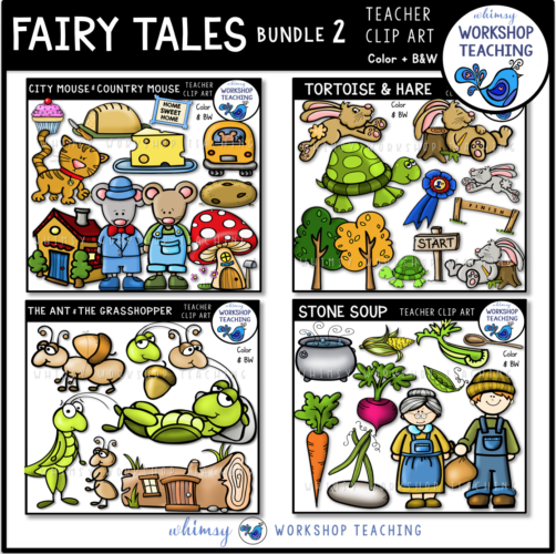 Fairy Tales Clip Art Bundle 2