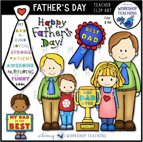 Fathers Day Clip Art WWT