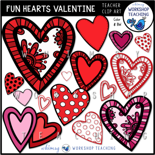 Fun Hearts Valentine WWT