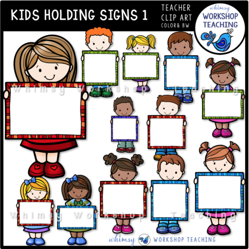Kids Holding Signs 1 WWT