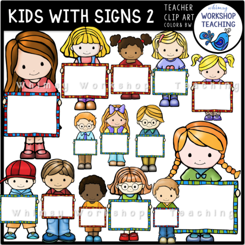 Kids with Signs 2