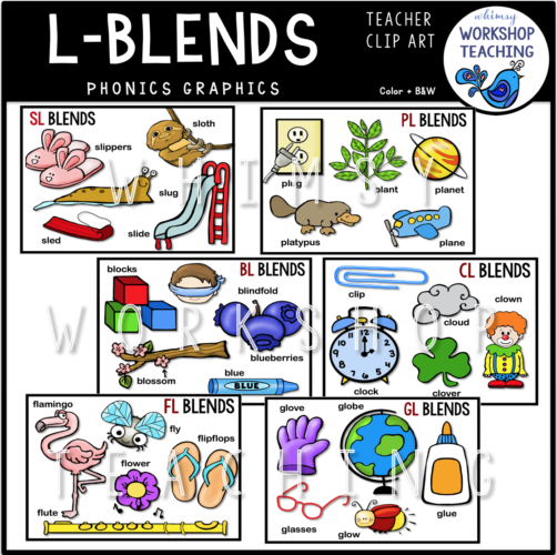 Phonics L Blends WWT