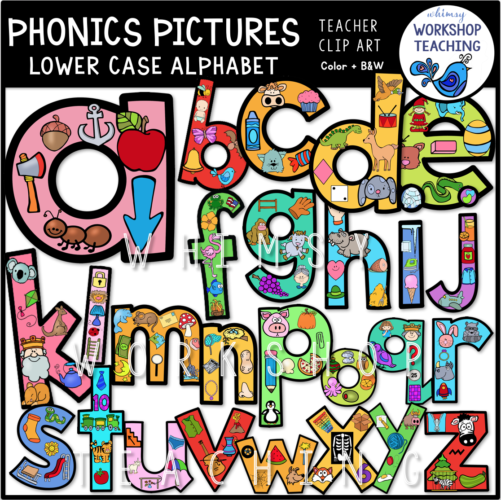 Phonics Pictures Alphabet WWT